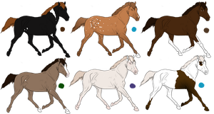 Horse Adoptables!! by StarlitStables