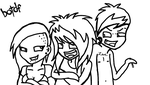 BOTDF CHIBI DOODLE LINES by TMNT1984