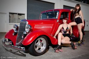 Hot Rod Roller Girls by fiathriel