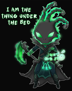 Chibi Thresh - League of Legends by linkitty