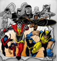 Giant Size X-Men COLORED Ver 2 by LucasAckerman
