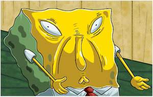 Spongebob Uses Too Much Sauce. by Virus-20