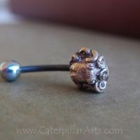Octopus Belly Ring by CaterpillarArts