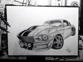 Shelby GT 500 Eleanor 1967 by Patres68