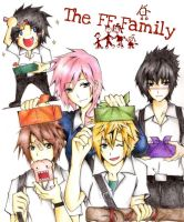 The FF family by SupremeFeline
