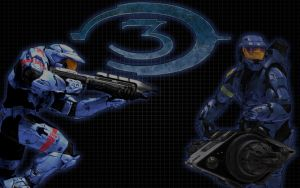 Halo 3 Blue Team by Snohawk