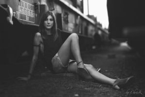 Tina by the Rails IV by ChrisK-photo