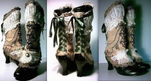 Marie Antoinette Spats by MAIDESTREASURIES