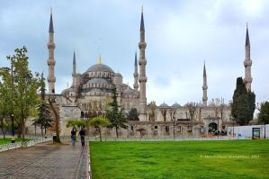 Sultan Ahmet Mosque II by ashamandour
