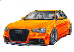 Audi with Rotiform ! by Mauxdesign