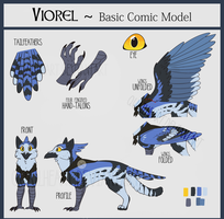 Viorel [2017 MODEL REFERENCE] by Quailheart
