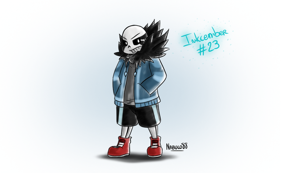 Inkcember 23 - Gz!Sans by Nabuco88