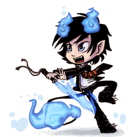 Rin_ao no exorcist by griffsnuff