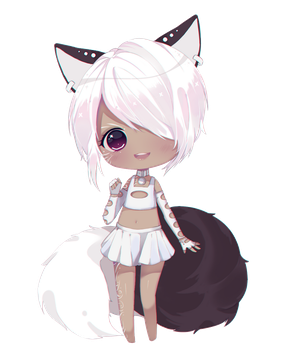 marshmallow chibi commission by Antay6009