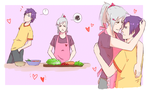 [HSV] COOKING HONEY ! by KeiARTx