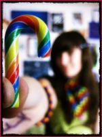Rainbow Cane by Chrystalblueisboo