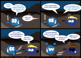 SC239 - Most Dangerous Game 39 by simpleCOMICS
