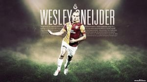 Wesley Sneijder by CanTuran
