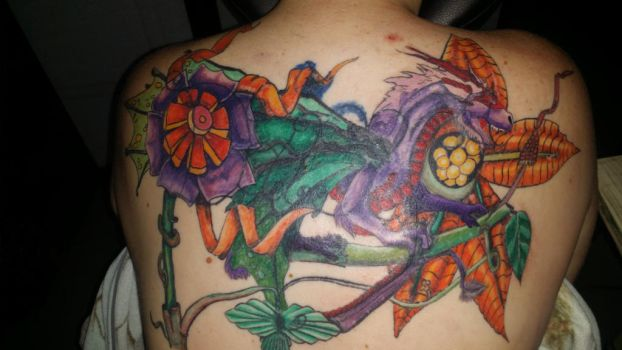 back piece cover up 1ST pass by TattooBear