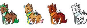 Season Canine Adoptables [Closed] by Shadowed-Adoptables