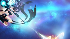 League of Legends Janna Wallpaper by Misieq