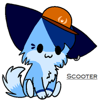 Scooter Chibi by Violetkay214