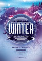 Winter Flyer Template by styleWish