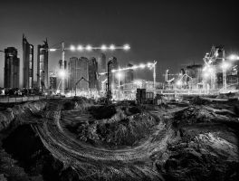 construct bw. by almiller