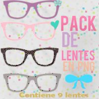Pack De Lentes para dolls by Girlspng