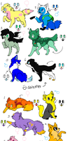 Adventure Time Based Adoptables (CLOSED) by DetritusDroid