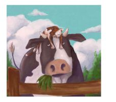 Cat and Cow by Zias