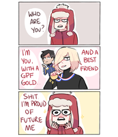 YOI: WHO ARE YOU by Randomsplashes