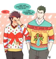 Ugly sweaters for Christmas! by VenaMalfoy