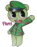 HTF Flippy by araneko