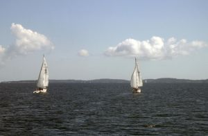 Sailboats by decors