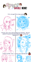 Double Meme with Perla by FlashnTails