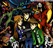 Ben 10 Alien Force by sasukee23loveeer