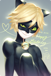 Chat Noir by Aka-Shiro