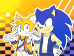 .:AT Tails and Sonic:. by Rubisha