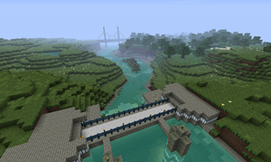 Minecraft Project: Old Shanksville by C-MaxisGR