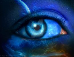 Eye On The Universe by KerriAnnCrau