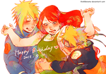 Happy Late Birthday Kushina! by fvckfdaname