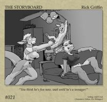 The Storyboard - 021 by RickGriffin