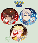 Pokemon Go: Team Leaders by rairy