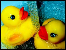 Rubber Duckie 3 by metallicpeach