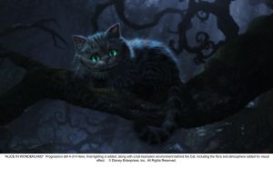 Cheshire Cat Progression Art 4 by AliceInWonderland