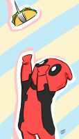Deadpool wants Taco by StephDiep
