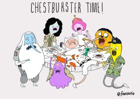 CHESTBURSTER TIME! by Franxurio