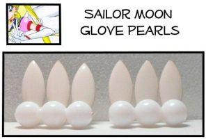 Sailor Moon Glove pearls by Topaz-Jewelry