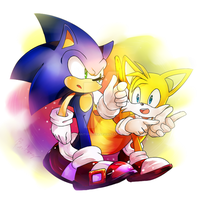Sonic and Tails by Baitong9194
